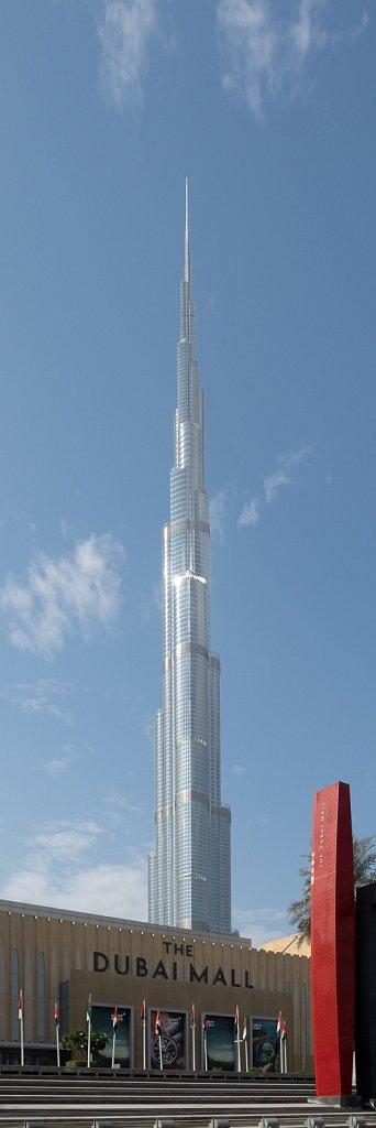 Burj Khalifa, Dubai, Vereinigte Arabische Emirate (2018)